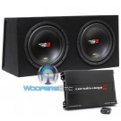 """BKX212V - Cerwin Vega 12"""" 4-Ohm 3000W Loaded XED Basskit Series Subwoofers Vented Enclosure with Amplifier"""