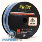 SQVLP4BL - Soundquest 4 GA 100 Feet Power Wire Matte Blue