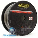 SQPH4BK - Soundquest 4 GA 100 Feet Power Wire Matte Black