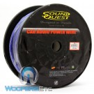 SQPH4BL - Soundquest 4 GA 100 Feet Power Wire Matte Blue