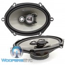 "AF.573 - Soundstream 5"" x 7"" 120W RMS 3-Way Coaxial Speakers"