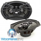 "AF.694 - Soundstream 6"" x 9"" 170W RMS 4-Way Coaxial Speakers"