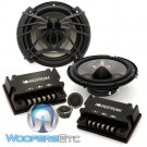 "AC.6 - Soundstream 6.5"" 100W RMS 2-Way Component Speakers System"