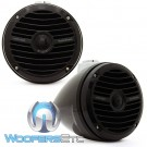 "Rockford Fosgate RM1652W-MB 6.5"" 150 Watts RMS Mini Wakeboard Tower Marine Speakers"