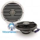 "Diamond Audio HXM65 6.5"" 80 Watts RMS 2-Way Marine Coaxial Speakers  (White)"