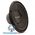 "Pioneer TS-W126M 12"" 300 Watts RMS Single 4-Ohm Subwoofer"