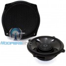 "Rockford Fosgate TMS6SG 6.5"" 75 Watts RMS 2-Way Coaxial Speakers for 1998-2013 Harley Davidson Motorcycles"