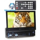 "Soundstream VR-75B In-Dash 1-DIN 7"" LCD Screen DVD Receiver with Bluetooth"