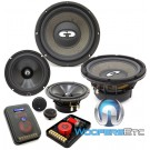 "HD-842 - CDT Audio 8"" 4"" 2"" High Definition Component Set"