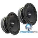 "Sundown Audio SXMP-6.5 8-OHM 200 Watts RMS 6.5"" 8 Ohm Midrange Speakers (Pair)"