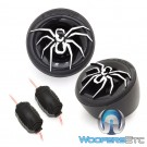 "Soundstream TWS.7 1"" 110 Watts 4-Ohm PEI Dome Tweeters with 12dB Crossover"