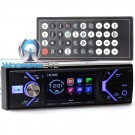 "Power Acoustik PD-348B In-Dash 1-DIN 3.4"" LCD DVD Receiver with Bluetooth 4.0"