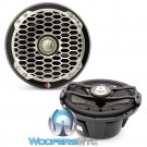 "Rockford Fosgate PM2652B Black 6.5"" 85 Watts 2-Way Full Range 4-Ohm Punch Series Marine Coaxial Speakers"