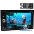 "Power Acoustik PD-625B In-Dash 2-DIN 6.2"" Touchscreen DVD Receiver with Detachable LCD and Bluetooth 4.0"