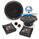 "Rockford Fosgate T1675-S 6.75"" 100W RMS 2-Way Component Speakers System"