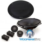 "Alpine X-S69C 6"" x 9"" 120 Watts RMS Type-X Series Component Speakers System"