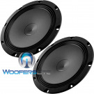 "Audison AP8 Prima 8"" Midrange 4-Ohm 100W RMS Speakers Car Audio"
