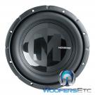 """Memphis Audio PRX1224 12"""" 600W Max 4-Ohm/ 2-Ohm Interchangeable Impedance Subwoofer"""