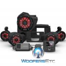 Rockford Fosgate RZR14-STG4 Audio Kit for Select 2014-Up Polaris RZR Models
