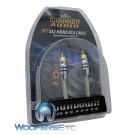 Sundown Audio 3ft. MONO SAZ solid 100% OFC Copper Twisted RCA Amplifier Wire