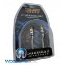 Sundown Audio 6 ft. MONO SAZ solid 100% OFC Copper Twisted RCA Amplifier Wire