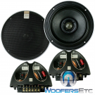 """Hybrid Integra 62 - Morel 6.5"""" 2-Way Coaxial Speakers with Passive Crossovers"""