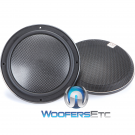"Morel VIRTUS NANO CARBON MW6 6.5"" Slim Midrange Speakers"