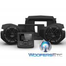 Rockford Fosgate RZR14-STG1 Audio Kit for Select 2014-Up Polaris RZR Models