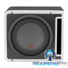 "R-SB10V Alpine Halo Series 10"" Linkable Ported Subwoofer Enclosure"