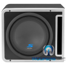 "S-SB10V Alpine Halo Series 10"" Linkable Ported Subwoofer Enclosure"