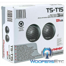"PIONEER TS-T15 PRO 120W Flush Mounting Soft Dome 3/4"" Tweeters"
