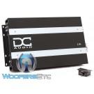 DC Audio 2.0K Monoblock 2000W RMS Linkable Digital Amplifier