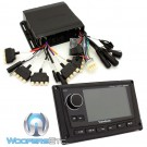 "pkg Rockford Fosgate PMX-8BB Hide Away Receiver  + Rockford Fosgate PMX-8DH 5""  Display Head"