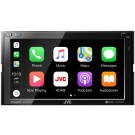 """JVC KW-M750BT In-Dash 2-DIN 6.8"""" Touchscreen Multi-Media Receiver with Apple Car Play & Android Auto"""