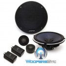 "Alpine X-S65C 6.5"" 120 Watts RMS Type-X Series Component Speakers System"