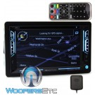 "Soundstream VRN-63HB In-Dash 2-DIN 6.2"" LCD Touchscreen DVD GPS Navigation Receiver with Bluetooth Connectivity and Android PhoneLink"