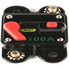 CB-100 - Titanium Power 100 Amp Gold Plated Circuit Breakers