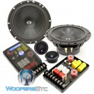 "CL-62- CDT Audio 6.5"" 2-Way Classic Series Component Speakers System"