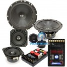 "CDT Audio CL-642 6.5"" / 4"" 220W RMS 3-Way Classic Series Component Speakers System"