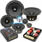 """ES-642i - CDT Audio 6.5"""" 4"""" 250W RMS 3-Way Component Speakers System"""