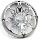 """AFG10 - Audiobahn 10"""" Polished Cast Aluminum Subwoofer Grill"""