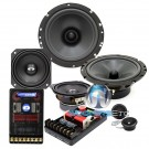 "CL-6E42 - CDT Audio 3-Way 6/4/1"" Component System"