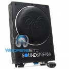 """USB.8A - Soundstream 8"""" Under Seat Enclosed Subwoofer and Amplifier"""