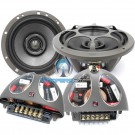 """Hybrid Integra 602 - Morel 6.5"""" 2-Way Coaxial Speakers with Passive Crossovers"""