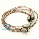 ETP-3 - Memphis 3' 2-Channel Twisted Interconnect Audio RCA Cable