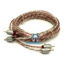ETP-12 - Memphis 12' 2-Channel Twisted Interconnect Audio RCA Cable