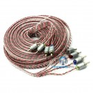 ETP-21.4 - Memphis 21' 4-Channel Twisted Interconnect Audio Cable