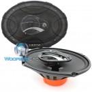 "DCX 690.3 - Hertz 6"" x 9"" 3-Way 90W RMS DIECI Series Coaxial Speakers"