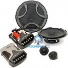 "ESK-F165.5 - Hertz 6.5"" 270W Peak 2-Way Shallow Mount Component Speaker System"