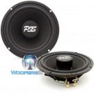 "ES-6IM - CDT Audio 6.5"" 100W RMS Slim Cast Inverted Magnet Mid-Bass Woofer"